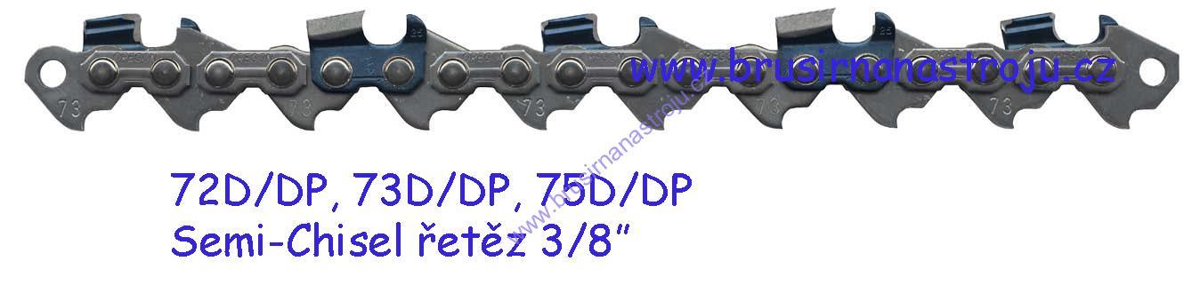 OREGON, pilový řetěz 3/8-1,5- 84 článků - 73DP