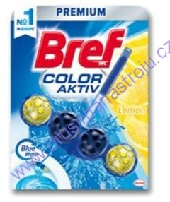 WC blok BREF  4 koule  -  Lemon 51g