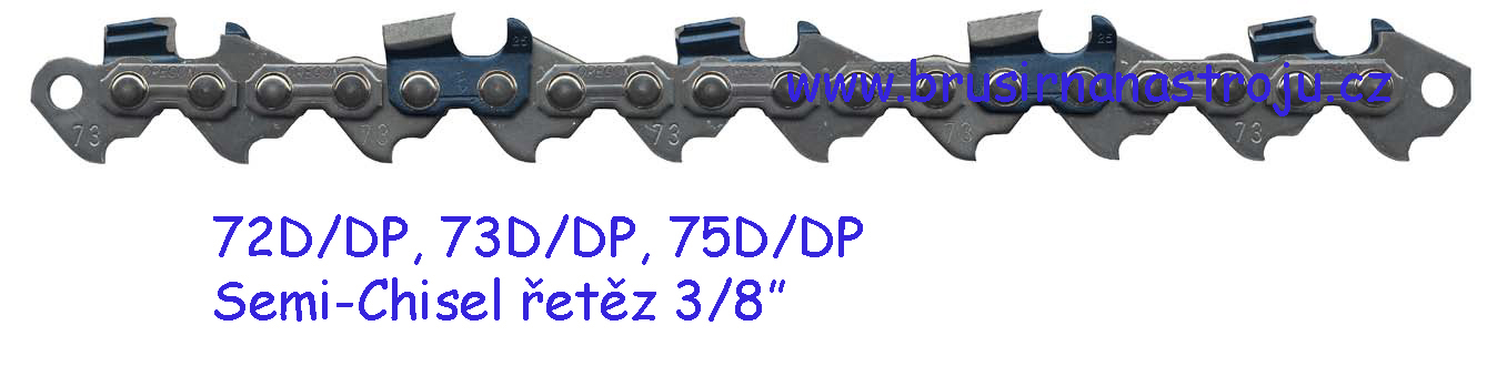 OREGON, pilový řetěz 3/8-1,5- 60 článků - 73DP