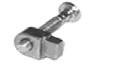 Napínací šroub řetězu Homelite XL/240/245