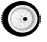Kolo pro sekačky s pojezdem AYP, Husqvarna - 203mm, 53 zubů